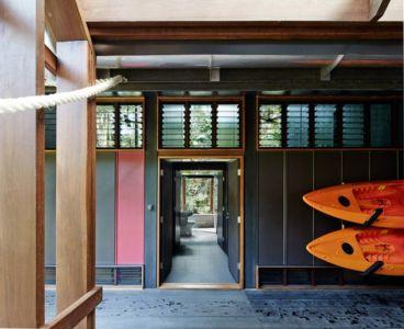 couloir - house-tropical par m3architecture - Queensland - Australie