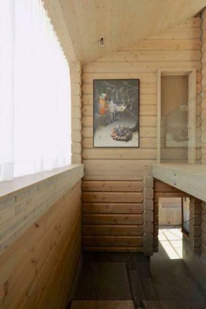 couloir & intérieur en bois - Cozy-Wooden-Cottage par JVA - Oppdal, Norvège