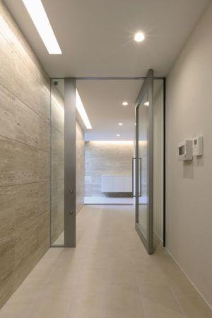 couloir - YAM par ks-architects - Nagoya, Japon