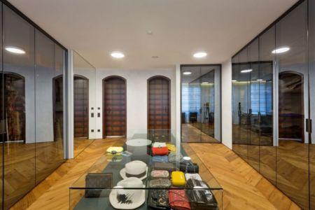 couloir & objets de déco - Residence-BO par Baraban+design studio - Kiev, Ukraine