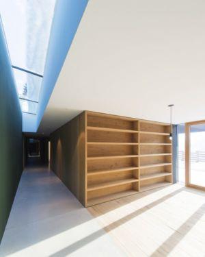 couloir & plafond vitré - Structure-Slope par Bergmeister Wolf Architekten - Bozen, Italie