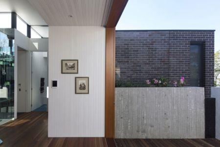 couloir - spiegel-haus par Carterwilliamson Architectes - Sydney, Australie