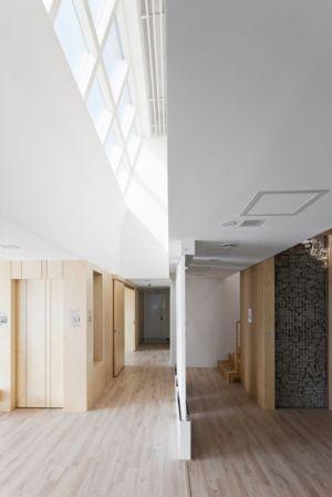 couloirs - E-Green Home par Unsangdong - Jeondae-ri, Corée du Sud