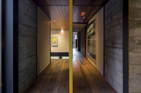 couloirs étage - Résidense JG by MPG-Arquitectura, Rio de Janeiro, Brésil