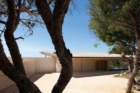 cour intérieure - Alon House par AABE et Partners -France
