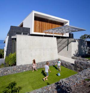 courette - Coolum Bays House par Aboda Design Group - Coolum Beach, Australie - photo Paul Smith