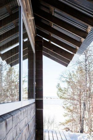 couvre toit terrasse - femunden par Aslak Haanhuus Arkiekter - Femund, Norvege