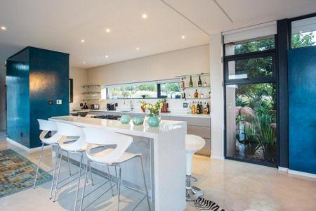 cuisine - Aloe Ridge House par Metropole Architects - Kwa Zulu Natal, Afrique du Sud
