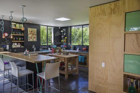 cuisine - BO House par Plan B Arquitectos - Colombie