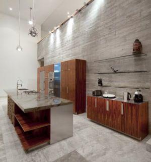 cuisine - Bella Vita Villa par Prototype Design Lab -  îles Turques et Caïques