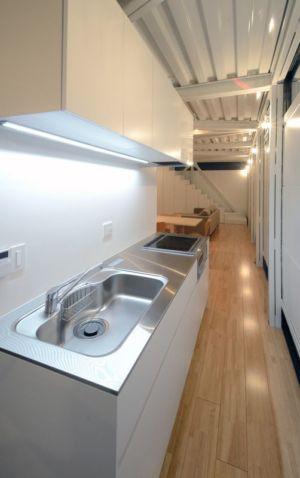 cuisine - Boundary House par Niji Architects - Tokyo, Japon