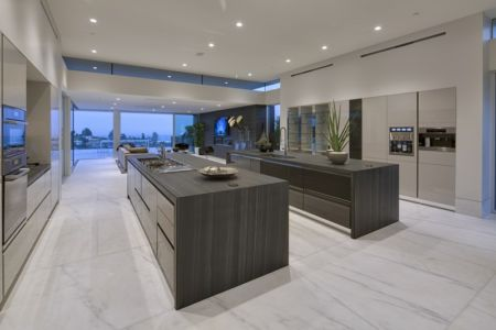 cuisine - Carla Ridge par McClean Design - Beverly Hills, Usa