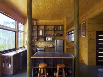 cuisine - Casa Tunquén par CO2 Arquitectos - Vaparaiso, Chili