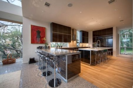 cuisine - City View Residence par Dick Clark Architecture - Austin, Usa