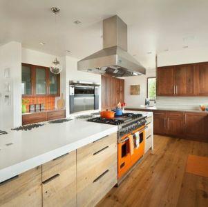 cuisine - Contemporary Western par Hoyt Architects & CTA Group - Usa