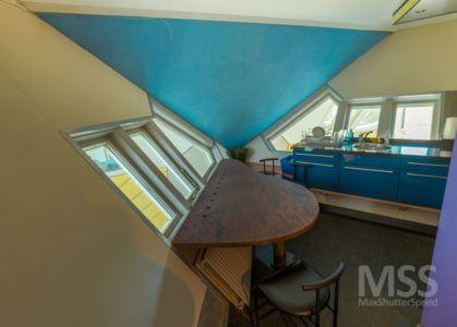 cuisine - Cube-houses par Piet Blom - Rotterdam, Pays-Bas