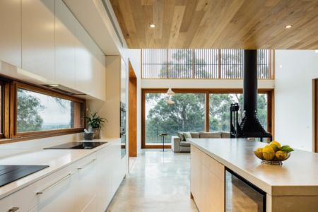 cuisine - Dawes Road House par Moloney Architects - Ballarat, Australie