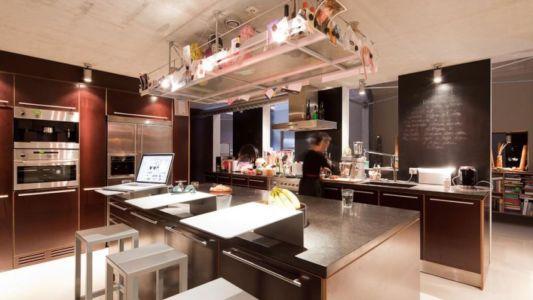 cuisine - Donderen Barnhouse par aatvos - Donderen, Pays-Bas