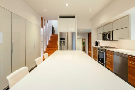 cuisine - Double High House par Checkwitch Poiron Architects - Nanaimo, Canada - Concept Photography