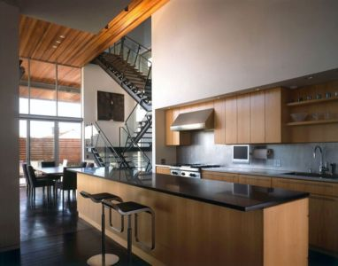 cuisine - Eaton Residence par E. Cobb Architects - Seattle, Usa - Photo Paul Warchol