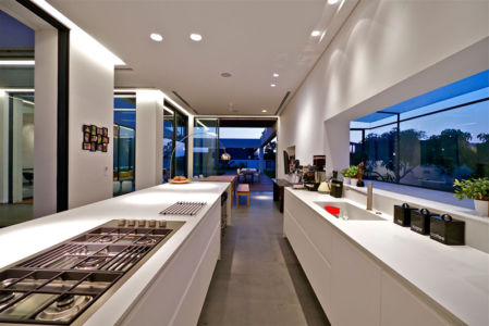 cuisine - - Five Star Caesarea Dream Home par Gal Marom Architects - Israel