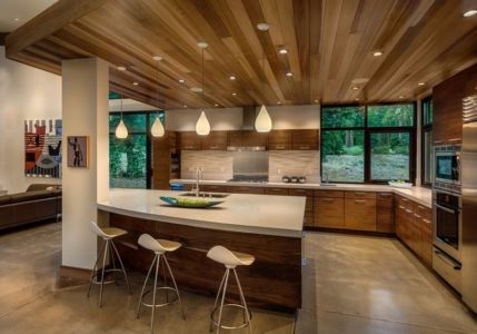 cuisine - Flight House in Martis Camp par Sage Architecture - Truckee, Usa