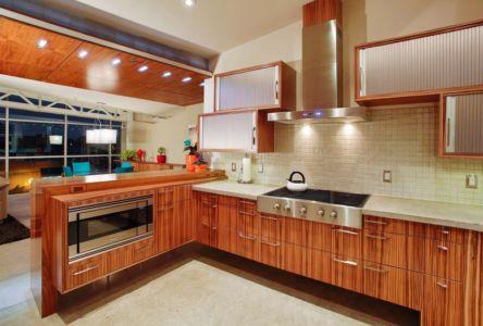 cuisine  - Flute house par The Think Shop Architects - Royal Oak , Usa