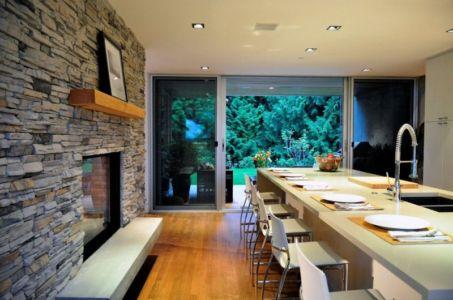 cuisine - Forest House par Garret Cord Werner - Vancouver, Canada