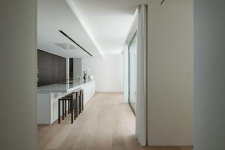 cuisine - HS Residence par Cubyc Architects - Bruges, Belgique