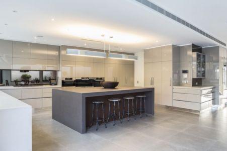 cuisine - Hampton Residence par Finnis Architects - Melbourne, Australie