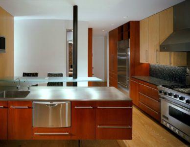 cuisine - Hargrave-Residence par Robert M. Gurney Architect - Maryland, Etats-Unis