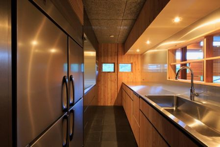 cuisine - House In Itsuura par Life Style Koubou - Ibaraki Prefecture, Japon