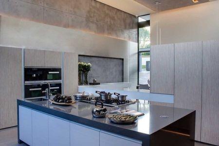 cuisine - House Sar par Nico van der Meulen Architects - Johannesbourg, Afrique du Sud