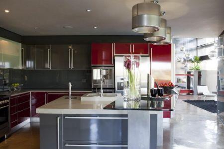 cuisine - House Tsi par Nico van der Meulen Architects - Afrique du Sud