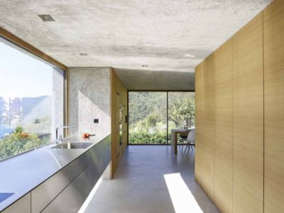 cuisine - House in Brissago par Wespi de Meuron Romeo architects - Brissago, Suisse