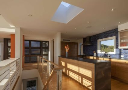 cuisine - House of Shifting Sands par Ruhl Walker Architects - Wellfleet, Usa