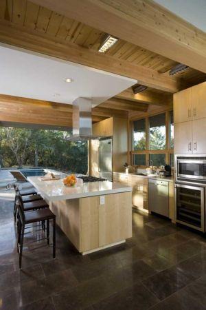 cuisine - HudsonPanos Residence par Swatt & Miers Architects - Healdsburg, Usa