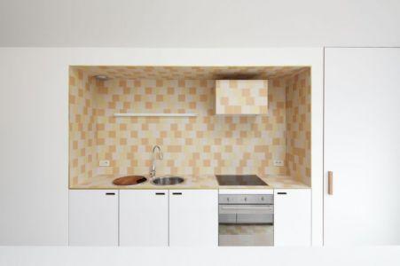 cuisine - Huis voor Patrick par LOW Architecten - Belgique
