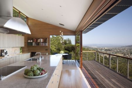 cuisine - Kentfield Residence par Turnbull Griffin Haesloop Architects - Kentfield, Usa