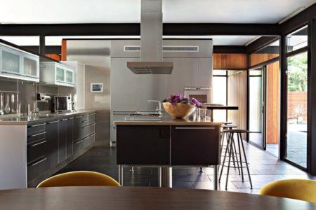 cuisine - La Cañada Residence par Jamie Bush & Co. - Sierra Madre, Usa