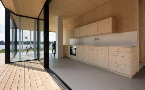 cuisine - Lake-House par Maximilien Eisenkock Neufelder, Autriche