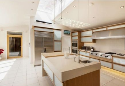 cuisine - Lofties par Rayner Davies Architects - Lindrick Common, Angleterre