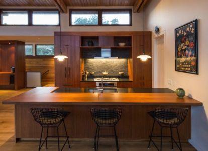 cuisine - Long Dune Residence par Hammer Architects - Truro, Usa