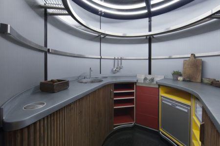 cuisine - Maison démontable Jean_Prouve_6x6 par RSHP