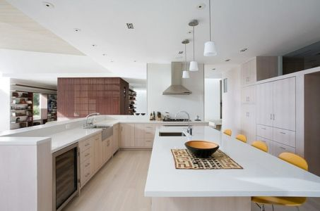 cuisine - Malibu House par Dutton Architects - Usa