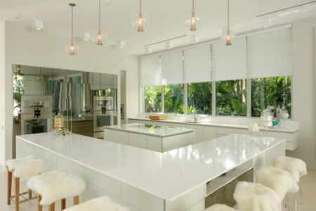cuisine - Mimo house par Kobi Karp architecture - Miami Beach, Usa