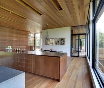 cuisine - Mothersill par Bates Masi Architects - Water Mill, Usa