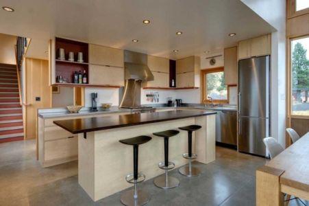 cuisine - Nahahum Canyon House par Balance Associates - Nahahum Canyon, Usa