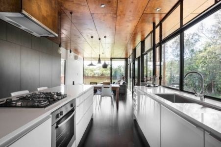 cuisine - Northern Rivers Beach House par Refresh Architecture - South Golden Beach, Australie