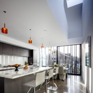 cuisine - Percy lane luxury homes par Odos architects - Dublin Irlande.jpg